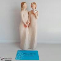 خرید مجسمه دو زن عمده