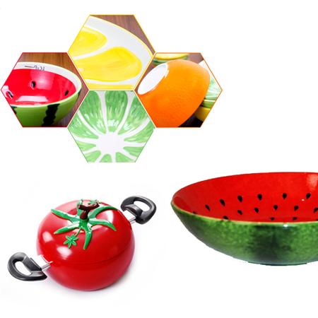 ظروف طرح میوه ای