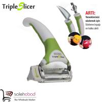خرید عمده ست ابزار میوه ارایی Triple slicer