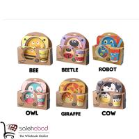 فروش عمده ست غذا خوری کودک طرح حیوانات