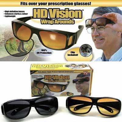 فروش عمده عینک دید در شب اچ دی ویژن