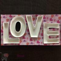 خرید عمده اردو خوری ۴ تکه طرح Love