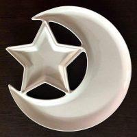 فروش عمده ظرف اردو خوری مدل ماه و ستاره