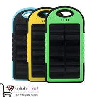 فروش عمده پاور بانک خورشیدی مسافرتی