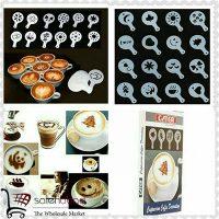 فروش عمده شابلون طراحی مخصوص قهوه