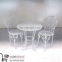 فروش عمده میز و صندلی فلزی کوچک