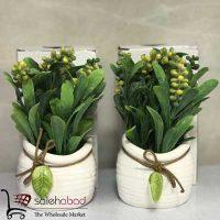 فروش عمده گلدان سرامیکی گل فانتزی ۳۰۱