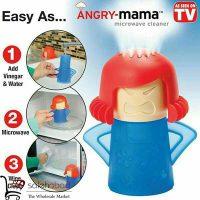 فروش عمده آدمک تمیز کننده ماکروفر Angry Mama