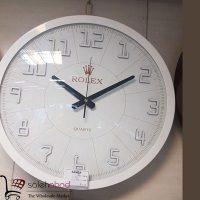 فروش عمده ساعت دیواری رولکس فلزی