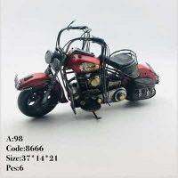 فروش عمده مجسمه موتور قدیمی طرح هارلی