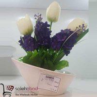 فروش عمده گلدان سرامیکی لاله ترنج
