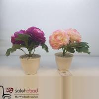 فروش عمده گلدان دکوری گل نسترن