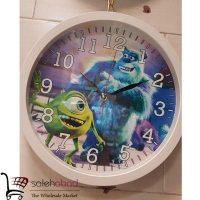 فروش عمده ساعت دیواری طرح شرکت هیولاها