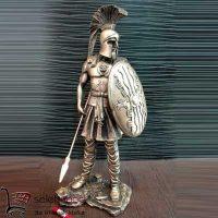 فروش عمده مجسمه دکوری سرباز رومی