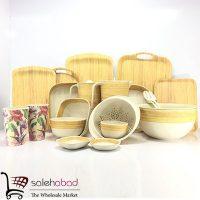 فروش عمده ظروف آشپزخانه چوبی بامبو