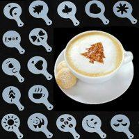 فروش عمده شابلون طراحی و تزئین قهوه