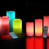فروش عمده شمع ریموت دار Luma Candles