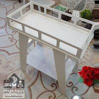فروش عمده میز دکوری ایکیا دو طبقه