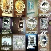 فروش عمده ست آینه های طاقچه دار دکوری