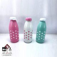 فروش عمده بطری شیشه ای شیر خالدار