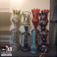 فروش عمده شمعدان دکوری طرح قاجار