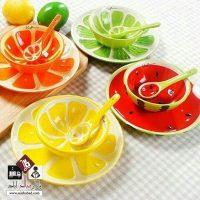 فروش عمده سرویس ظروف سه تکه میوه ای