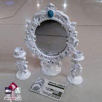 فروش عمده آینه و شمعدان یلدا سپید