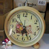 فروش عمده ساعت رومیزی طرح چوب