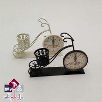 فروش عمده ساعت فلزی کوچک مدل دوچرخه