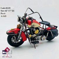فروش عمده مجسمه موتور قدیمی مدل هارلی