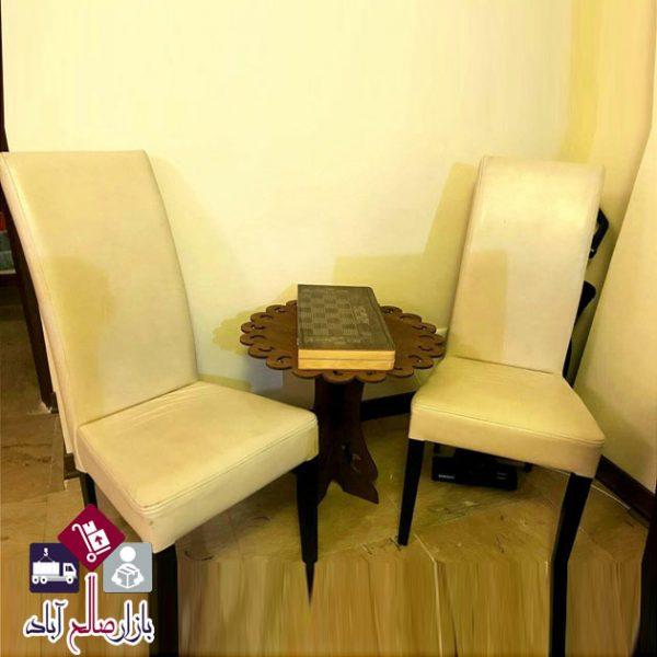 میز گرد دکوری فروش عمده میز دکوری چوبی طرح ایفل