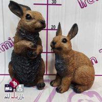فروش عمده مجسمه پلی استر دکوری خرگوش
