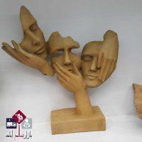 فروش عمده مجسمه پلی استری سه بعدی