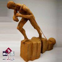 فروش عمده مجسمه پلی استری مرد