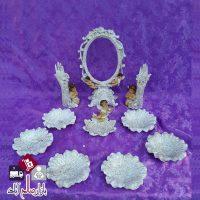 فروش عمده ست هفت سین طرح فرشته اکلیلی