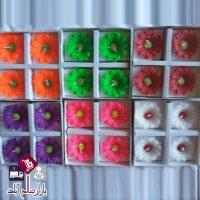 فروش عمده ست شمع چهار تایی طرح گل