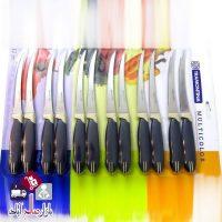 فروش عمده ست ١٢ عددی چاقو اره ای