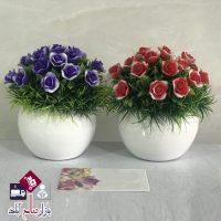 فروش عمده گلدان گل تک كوپه ميشكا