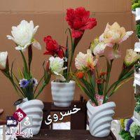 فروش عمده گلدان گل شقایق بزرگ