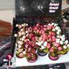 فروش عمده گلدان سطلی گل رز مینیاتوری