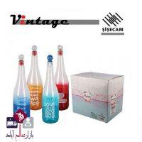 فروش عمده بطری آب مدل شیشه رنگی