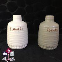 فروش عمده گلدان سرامیکی بزرگ طرح FLOWER