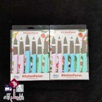فروش عمده ست چاقو 6 عددی لیزری