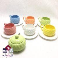 فروش عمده سرویس چای خوری طرح حبابی