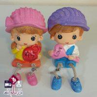 فروش عمده مجسمه عروسک پا آویز