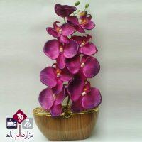 فروش عمده گلدان طرح چوب گل ارکیده
