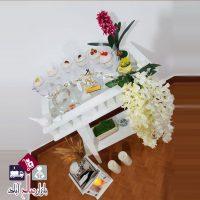 فروش عمده پایه گلدان دو طبقه طرح ایکیا