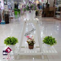 فروش عمده پایه گلدان هرمی دو طبقه