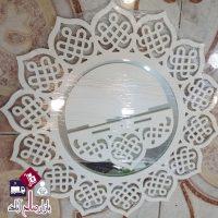 فروش عمده ست آینه گرد طاقچه دار اسلیمی