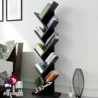 فروش عمده کتابخانه 120 سانتی طرح کاج